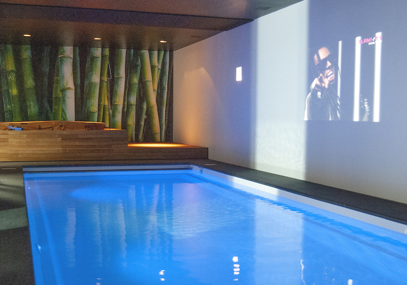 Incatro zwembad 10 artwall 57mm print